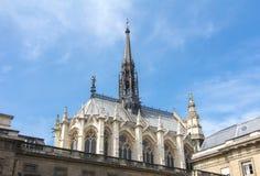 Heilige Kapelle Sainte Chapelle in Paris, Frankreich stockbild