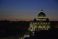 heilige Kathedrale im Vatikan stockbild