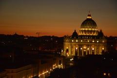 heilige Kathedrale im Vatikan stockfotografie