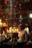 Heilige Kerk van de Geboorte van Christus Bethlehem Israël Stock Foto