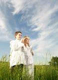Heilige kerkgemeenschap Royalty-vrije Stock Fotografie
