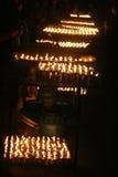 Heilige Kerzen Lizenzfreies Stockbild
