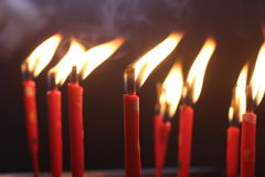 Heilige Kerzen Lizenzfreie Stockfotos