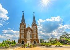 Heilige Kirche der Architektur am Nachmittag, Lizenzfreie Stockfotografie