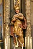 Heilige Ladislaus I van Hongarije Stock Afbeeldingen