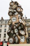 Heilige-Lazare post, Parijs Royalty-vrije Stock Fotografie