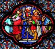 Heilige Louis Setting uit voor de Kruistocht stock foto