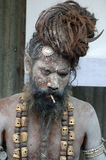 Heilige Männer in Indien Stockfotos
