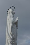 Heilige Maagdelijke Mary Statue Royalty-vrije Stock Afbeelding