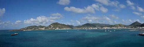 Heilige Maarten, Antillen van Nederland Stock Foto's
