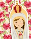 Heilige Mary stock illustratie