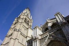 Heilige Mary Cathedral van Toledo Spain Royalty-vrije Stock Foto's