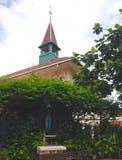 Heilige Mary en de Kerk Royalty-vrije Stock Afbeelding