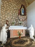 Heilige Mary Lourdes Chapel, Litauen lizenzfreie stockfotos