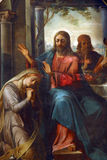 Heilige Mary Magdalene stock foto's