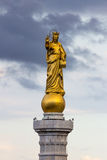 Heilige Mary-Statue Stockfoto