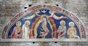 Heilige Mary van de kerk van Florence royalty-vrije stock afbeelding