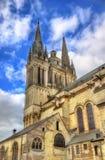 Heilige Maurice Cathedral van Angers in Frankrijk Royalty-vrije Stock Foto