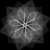 Heilige meetkundetekens Reeks symbolen en elementen stock illustratie