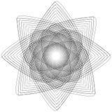 Heilige meetkundetekens Reeks symbolen en elementen Alchimie, godsdienst, filosofie vector illustratie