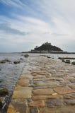 Heilige Michael zet, Cornwall, Engeland, het UK op Stock Fotografie