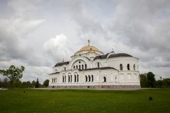 Heilige Nicholas Cathedral stock foto
