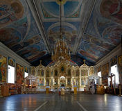 Heilige Nicholas Church, Barnaul, Rusland royalty-vrije stock foto's