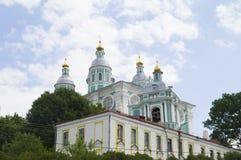 Heilige - orthodoxe Kirche der Annahme smolensk Lizenzfreies Stockfoto