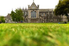 Heilige Patrick Cathedral in Dublin stock afbeelding