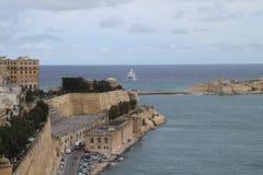 Heilige Paul Bay Malta Stock Afbeelding