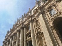 Heilige Pedro Basilica stock afbeeldingen