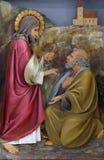 Heilige Peter stock foto's