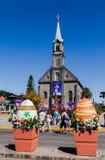 Heilige Peter Church Gramado Brazilië Royalty-vrije Stock Fotografie