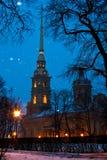 Heilige Peter en Paul Cathedral Royalty-vrije Stock Fotografie