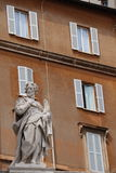 Heilige Peter in het Vatikaan stock afbeelding