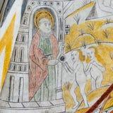 Heilige Peter met de Sleutels van het Koninkrijk, royalty-vrije stock foto