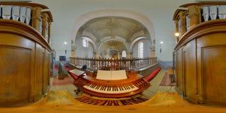 Heilige Peters Church Organ, Gherla, Roemenië Stock Afbeeldingen