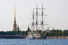 Heilige Petersburg Stock Afbeelding