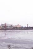Heilige Petersburg, de Dijk van het de winterpaleis Stock Afbeeldingen