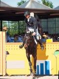 HEILIGE 06 PETERSBURG-JULI: Andrius Petrovas op Complemento in Royalty-vrije Stock Foto