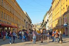 Heilige-Petersburg, Rusland Stock Afbeelding