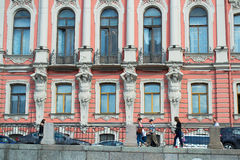 Heilige-Petersburg, Rusland - Juni 02, 2016: De stad van Atlanta Stock Foto