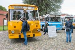 Heilige-Petersburg Rusland Retro Bussententoonstelling Royalty-vrije Stock Afbeelding