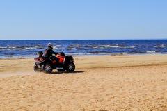 Heilige-Petersburg Rusland 05 27 vierwielige de wegfiets van 2018 stock afbeelding