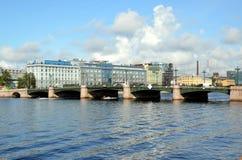 Heilige-Petersburg, stadsmeningen Stock Fotografie