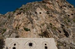 Heilige Pierre Church, Antiochië, Turkije Stock Foto