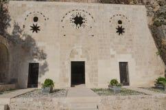 Heilige Pierre Church, Antiochië, Turkije Stock Fotografie