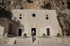 Heilige Pierre Church, Antiochië, Turkije Royalty-vrije Stock Foto's