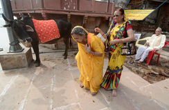Heilige Plaats Mathura Royalty-vrije Stock Afbeeldingen