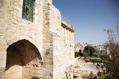 Heilige plaats voor islam en judaism royalty-vrije stock foto